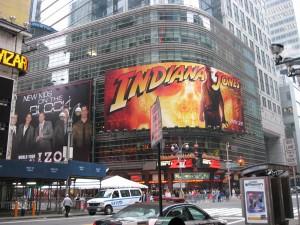 (Obligatory Times Square Picture)