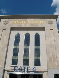 The Inagural year of the new Yankee Stadium.