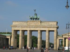 Or Brandenburg Gate for you non-German-speaking-people.
