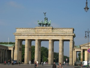 Or Brandenburg Gate for you non-German-speaking-people.