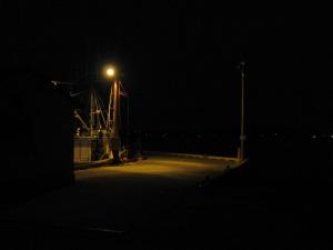 The docks.