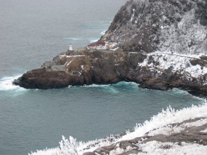 Fort Amherst.  I know it looks cold, but I think this picture is beautiful.