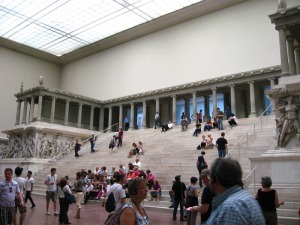 "Or as it's now referred to - ""The Pergamon Chillin' Stairs""."