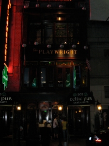 The Playwright Tavern