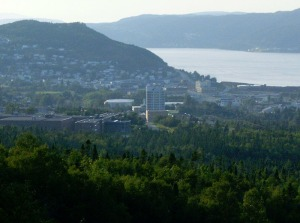 The city of Corner Brook