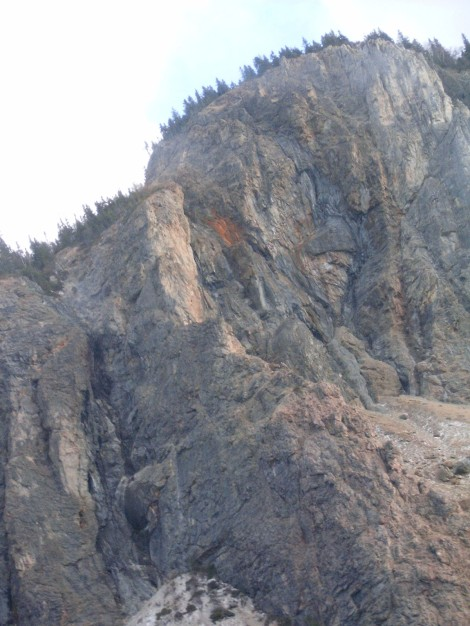 The Man In The Mountain (in Steady Brook, between Deer Lake and Corner Brook).  Do you see him?