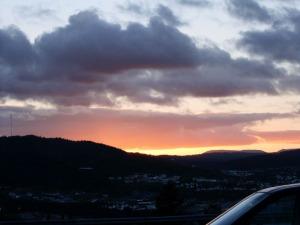 Pretty sunset.