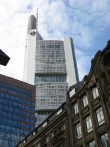 Such as the Commerzbank Tower.