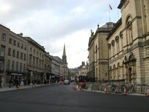 The architecture of Bath.