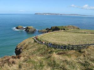 Looking towards Carrick Island.