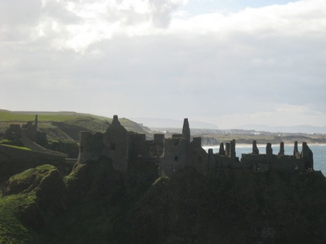Well, Dunluce Castle Ruins...