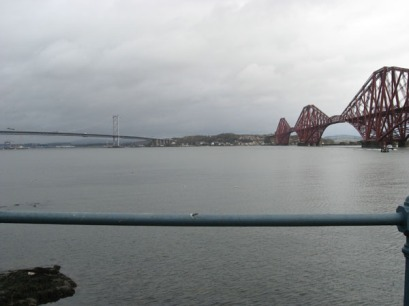 The Forth Bridge and ... another bridge.