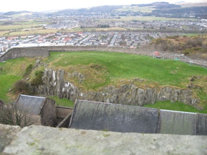 Overlooking Stirling.