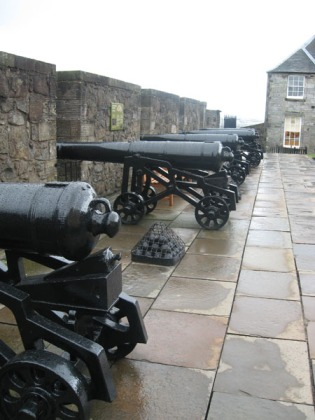 I found cannons!  (just no pictures of me with the cannons)