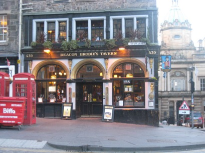 Situated on the Royal Mile