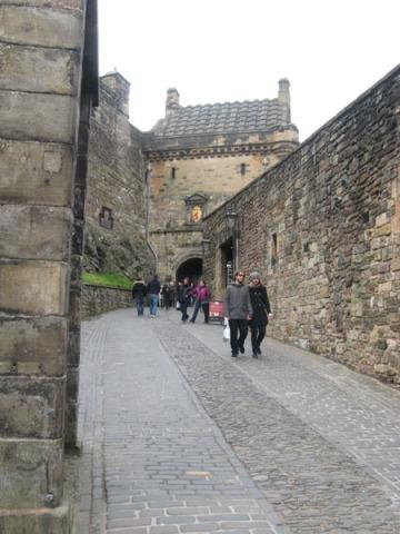 Past the gates