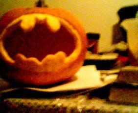 My Bat-O-Lantern from 5 years ago.