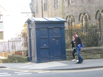 Here, have a Scottish TARDIS, just for good measure.