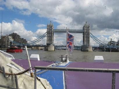 Tower Bridge, straight ahead!