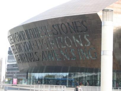 The Wales Millennium Centre (of course)