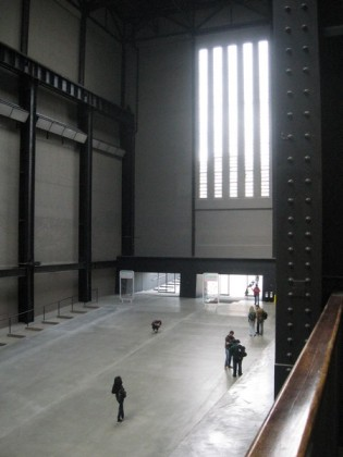 The empty Turbine Hall.