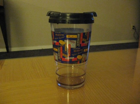 NY theatre cup.