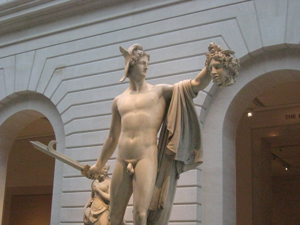 Peresus with the head of Medusa
