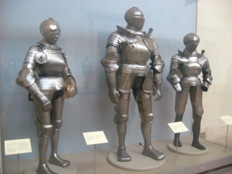 Is it just me or does the one on the left look like female armor?