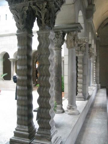 Wavy columns!