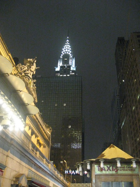 Oh Chrystler Building.