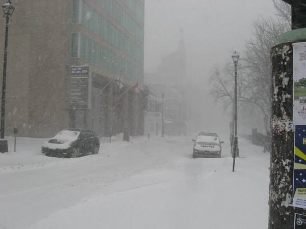 Snow + wind = awful weather.