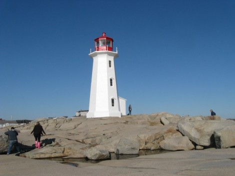 The famous lighthouse