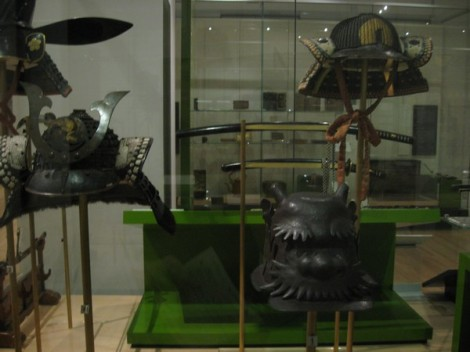 Samurai Helmets!