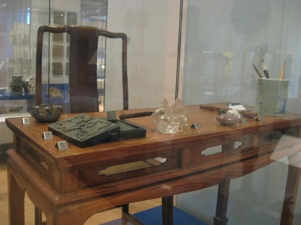 Caligraphy desk.