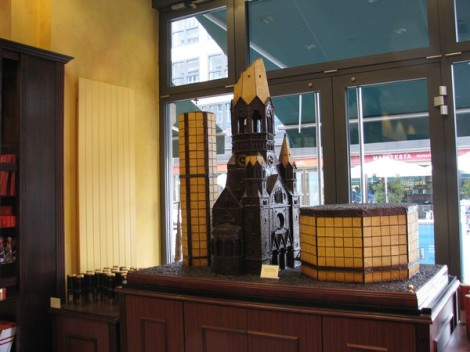 Chocolate Kaiser Whilhelm Memorial Church!