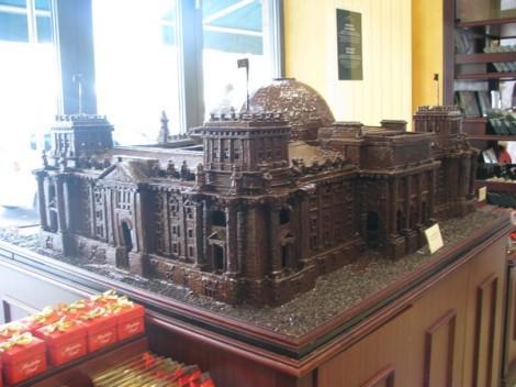 Chocolate Reichstag!